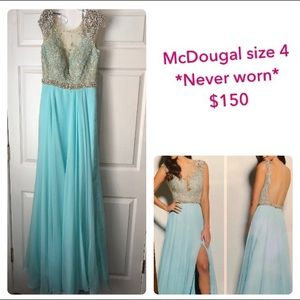 mcdougal dresses prom